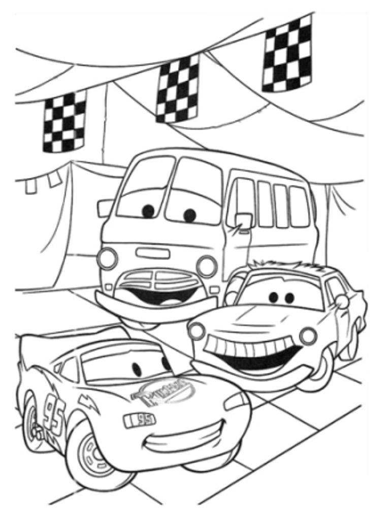 Disney Malebog Cars Biler Peter Pan Junglebogen