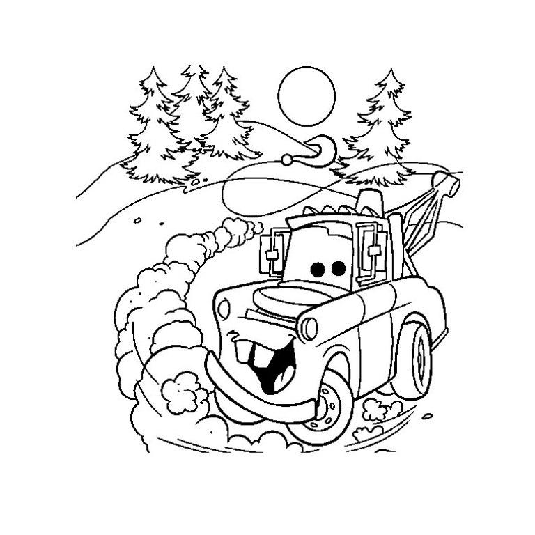 Disney malebog cars biler peter pan junglebogen - Coloriage de cars gratuit ...